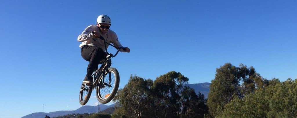 RIDE program bmx rider
